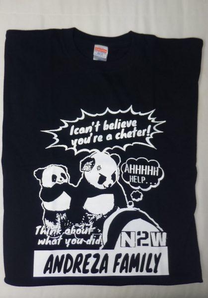 アンドレザファミリーTシャツ0812